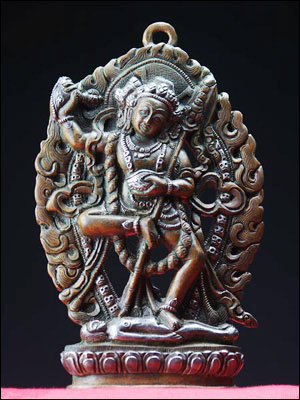 43141-仏教仏像「荼吉尼天(ダーキニー)」 43141-仏教仏像「荼吉尼天(ダーキニー)」