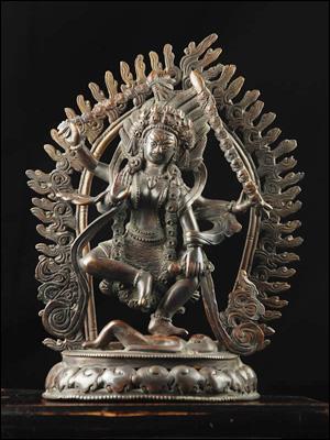 46418-仏教仏像「荼吉尼天(ダーキニー)」解説:荼吉尼天(ダーキニー)